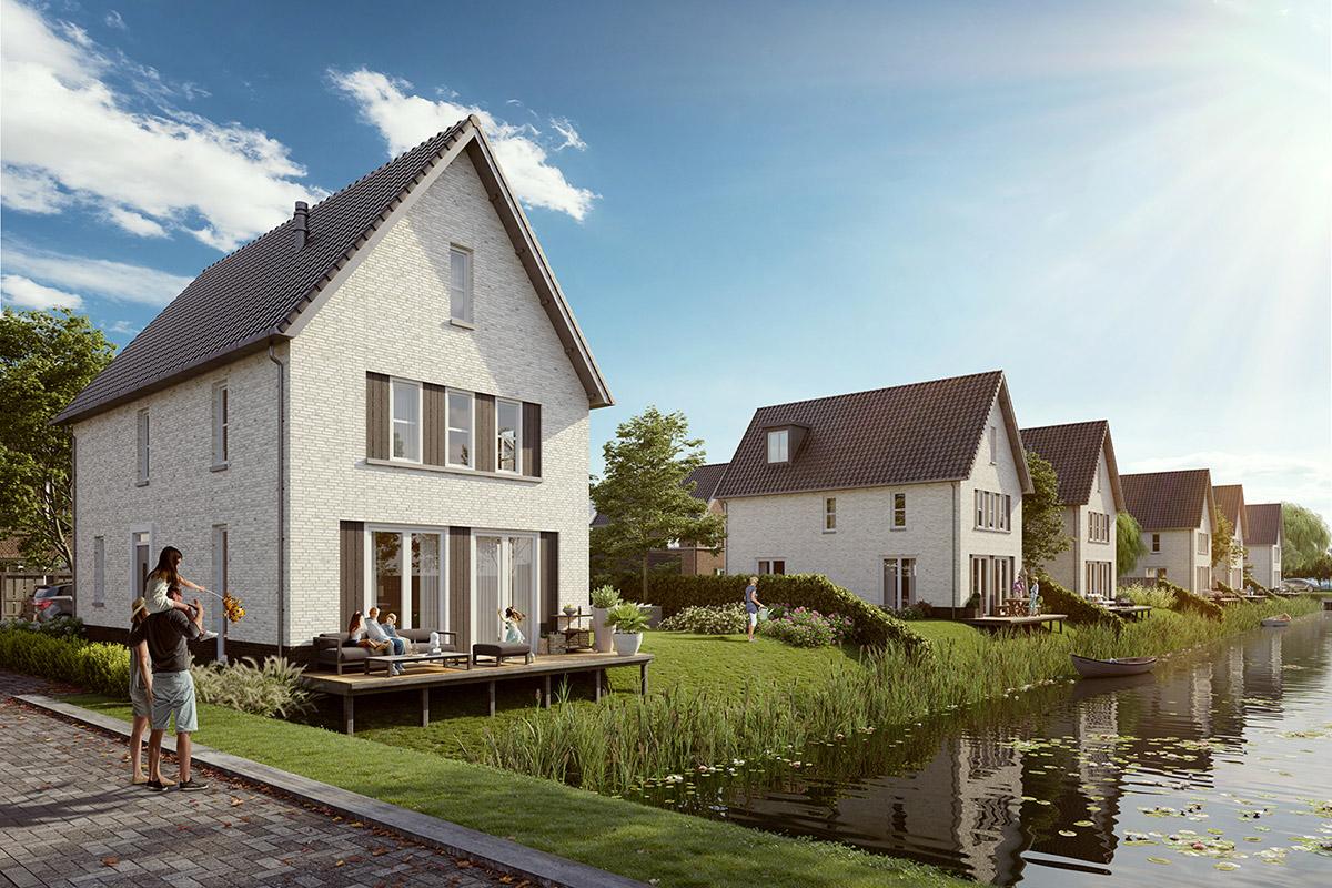 Archipel Fase 2 Veenendaal Watervilla